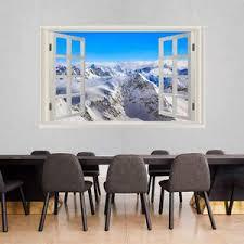 3d Window Frames Wall Decals Vwaq Vinyl Wall Art Quotes Prints