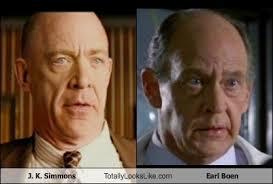 J. K. Simmons Totally Looks Like Earl Boen - Totally Looks Like