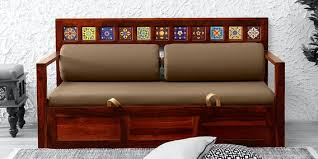 siramika solid wood sofa bed in