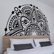 Half Mandala Wall Sticker Decal Design Craft Art Prints On Carousell