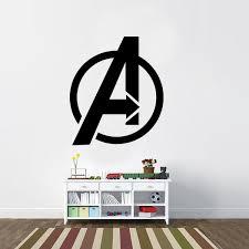 Avengers Symbol Vinyl Wall Decal Cosmic Frogs Vinyl