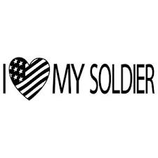 I Love My Soldier Heart Us Army Marine Navy Usmc Car Vinyl Decal Sticker Sd 1 Ebay