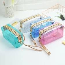 newest transpa pvc makeup bags