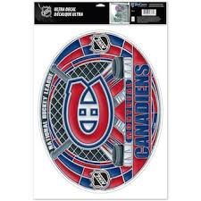 Montreal Canadiens Car Decals Canadiens Car Stickers Auto Decals Shop Nhl Com