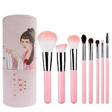 high quality makeup brush set pu