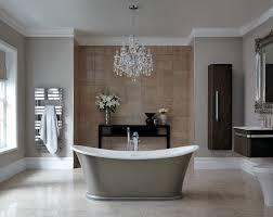 crystal chandelier for your luxury bathroom