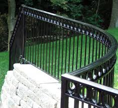 Gates For Stairs Wrought Iron Railing Fence Design Wrought Iron Security Doors Design Trends Graindesigners Com