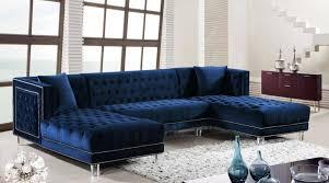 meridian moda sectional sofa in