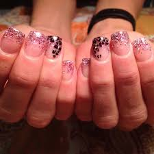 young nails sculpted gel nails chic