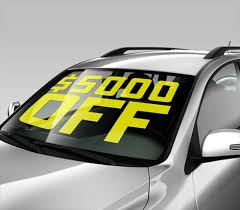 Removable Car Decals Removable Auto Decals Signazon Com