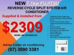 fujitsu 7 1kw air conditioning