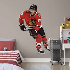 Patrick Kane Chicago Blackhawks Fathead 3 Pack Life Size Removable Wall Decal