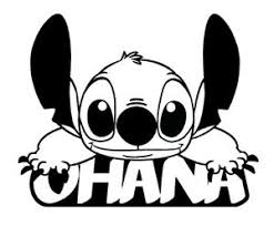 Ohana Lilo Stitch Vinyl Decal Sticker Car Window Wall Laptop Cartoon Family Ebay