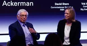 Leaders Meet: Diversity - 1-on-1 with Val Ackerman and David Stern - Leaders