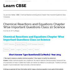 cbse notes for class 10 science