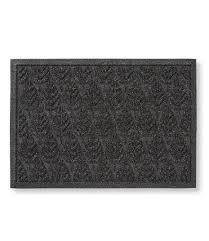 waterhog doormat geo leaf door mat