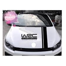 Wrc Stripe Car Covers Vinyl Racing Sports Decal Head Car Sticker For Ford Focus Vw Buy At A Low Prices On Joom E Commerce Platform