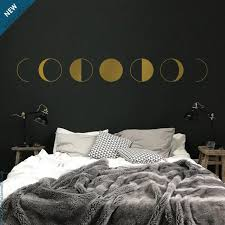 Moon Phases Wall Decal Moon Decal Moon Wall Sticker Etsy
