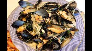 Mussels, French Style with White Wine ...