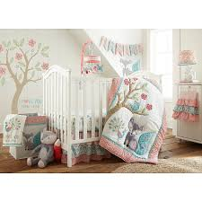 Levtex Baby Fiona Vinyl Wall Decal In Pink Blush Multi In 2020 Girl Nursery Themes Baby Girl Nursery Woodland Woodland Nursery Girl