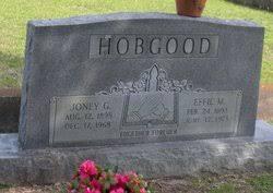 Effie Morgan Hobgood (1893-1973) - Find A Grave Memorial