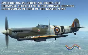 Johnnie Johnson's Spitfire