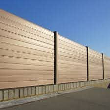 Walnut Eco Fencing Boards Maintenance Free Fencing Recycled Upvc Fencing
