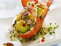 Lobster, Avocado and Prawn Salad recipe ...