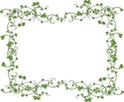 vines frame vector free vector in