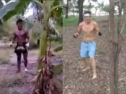 Kicking down a tree! -Martial Artist vs White Guy ( Adrian Van ...