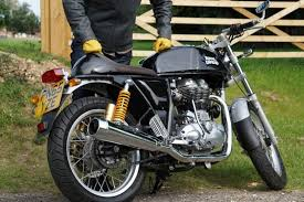 the royal enfield continental gt is a