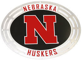 Husker Metal Decal For Mailbox Or Window