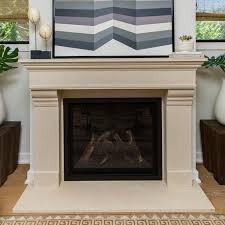 classic series stone fireplace mantel