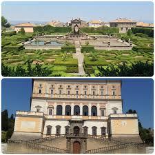 Foto Giardini Villa Lante a Bagnaia e Palazzo Farnese di Caprarola -  Girandolina