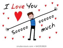i love you this much images stock