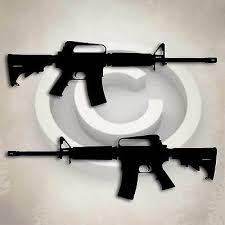 Ar 15 Gun Rifle Sticker Military Decal Ar 15 Semi Automatic Weapon Graphic 3 99 Picclick