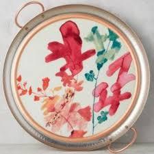 jen garrido morning bouquet tray from