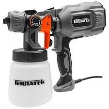 Terratek Paint Sprayer 550w Diy Electric Spray Gun With 3
