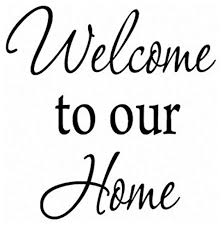 Vwaq Welcome To Our Home Family Wall Decal Sticker Version 1 Vwaq 1614 Contemporary Wall Decals By Vwaq Vinyl Wall Art Quotes And Prints