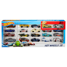 Hot Wheels 20 Car Gift Pack Assorted Toy Vehicles Styles May Vary Walmart Com Walmart Com