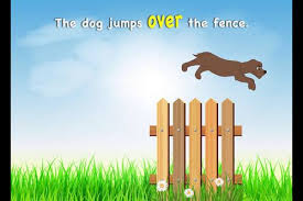 The Dog Jumps Over The Fence Animated Gif By Promoments Tpt