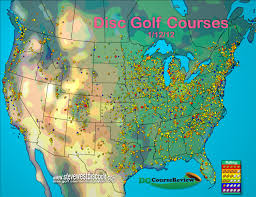 1 disc golf courses in us