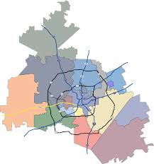 san antonio district map san