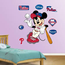 Fathead Wall Decal Mickey Mouse Phillies Silvio Dejan