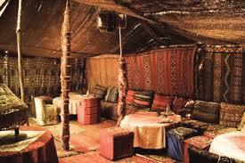 shelter of berber carpets