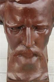 Bust portrait of a bearded man by Myra Reynolds Richards on artnet