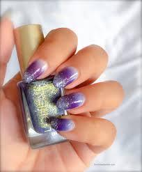 makeup sponge glitter nail polish