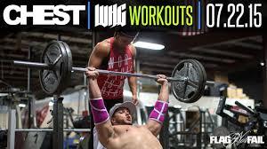 chest workout 07 22 15 dana linn