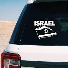 Flag Of Israel Car Trunk Sticker Decal Car Window Decor Israeli Flag Support Israel Vinyl Jewish Jew Laptop Decals Decoration Wall Stickers Aliexpress