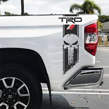 Trd Tundra Punisher Racing Decals Vinyl Sticker Decal Toyota Sport Off Road 4 X 4